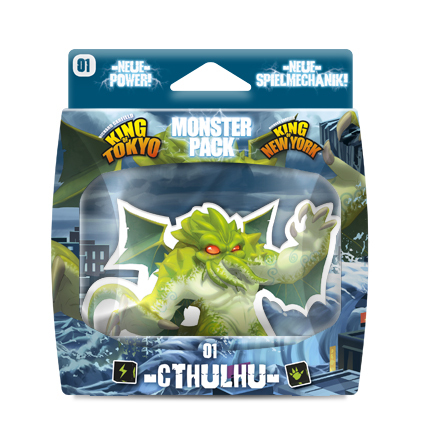 King of Tokyo MONSTER PACK CTHULHU