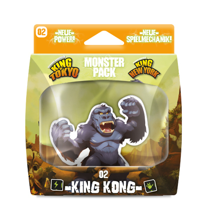 King of Tokyo MONSTER PACK KING KONG