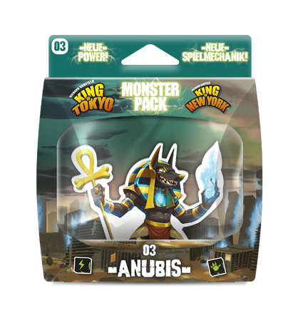 King of Tokyo MONSTERPACK ANUBIS