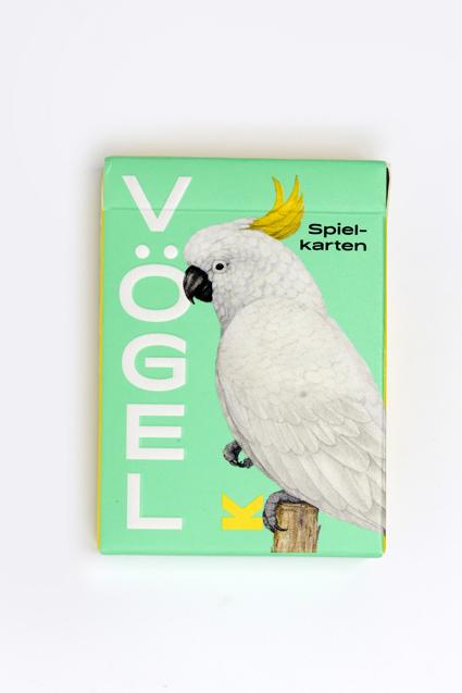 Vögel - Spielkarten