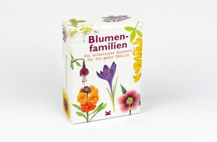 BLUMENFAMILIEN - QUARTETT