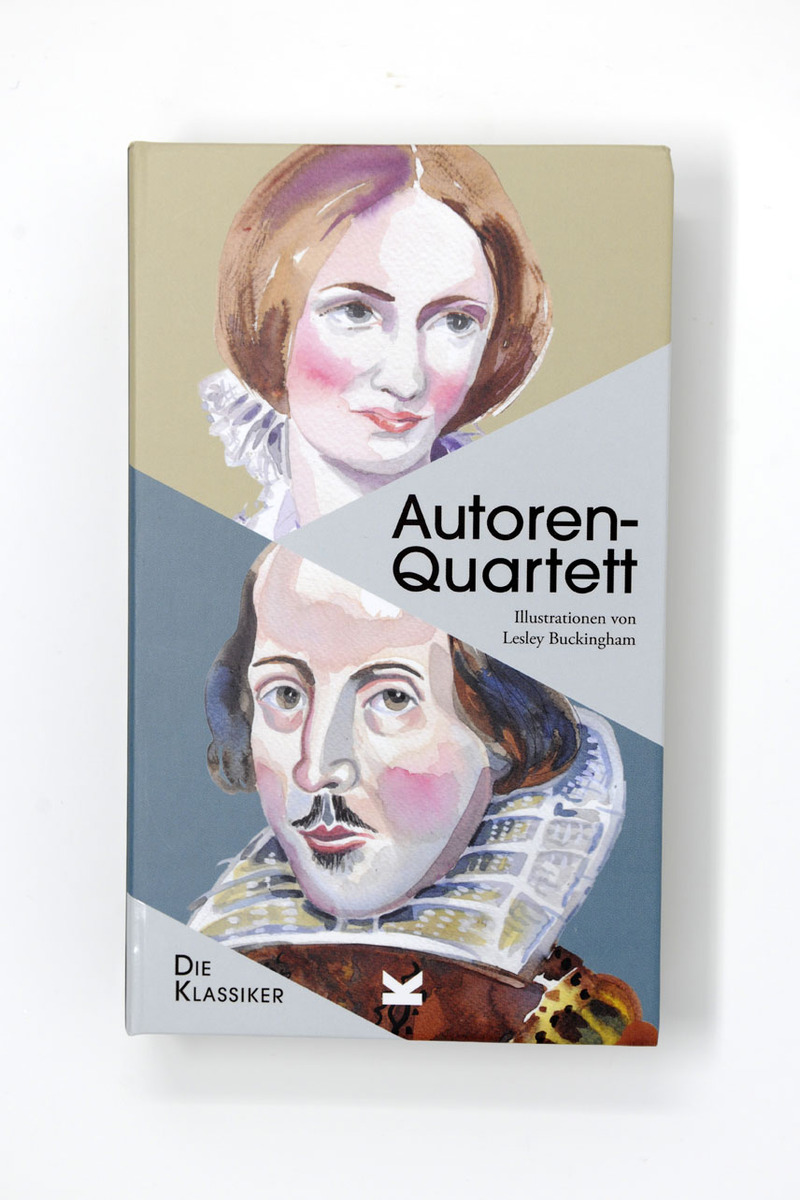 Autoren-Quartett die Klassiker