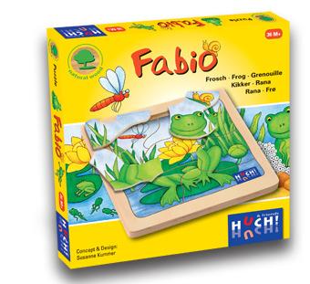 Wooden Line Story Puzzles Fabio