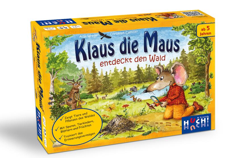 Klaus die Maus entdeckt den Wald