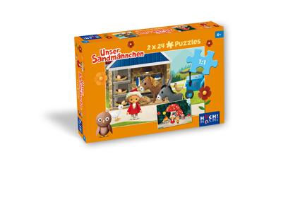 Unser Sandmännchen – Puzzle 2 x 24 Teile