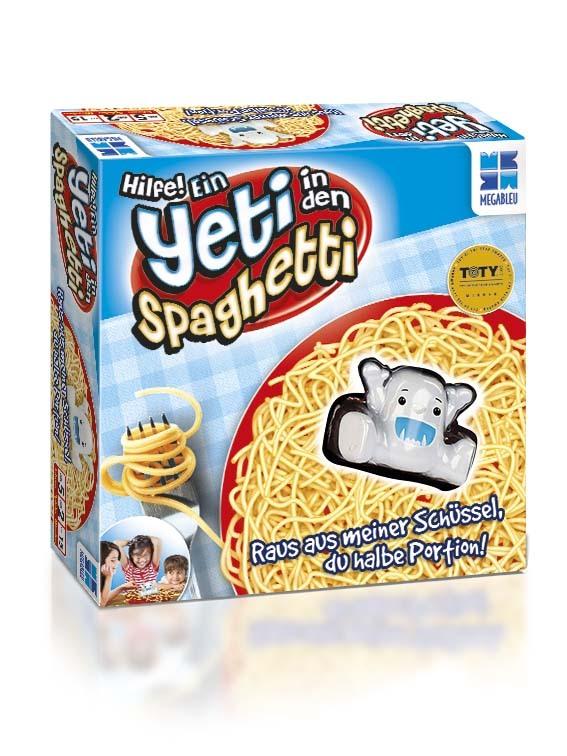 Hilfe! Ein Yeti in den Spaghetti