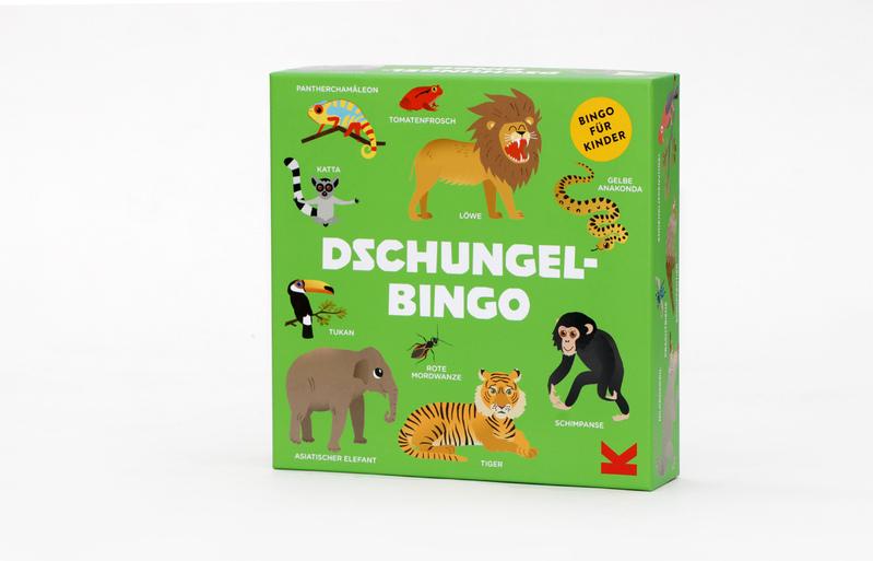 Dschungel-Bingo