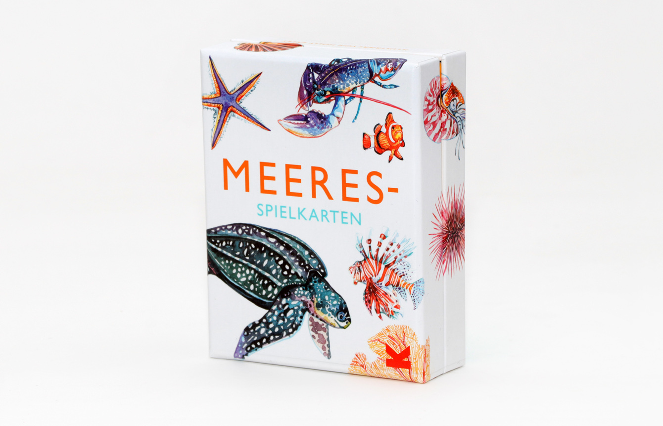 Meeres-Spielkarten