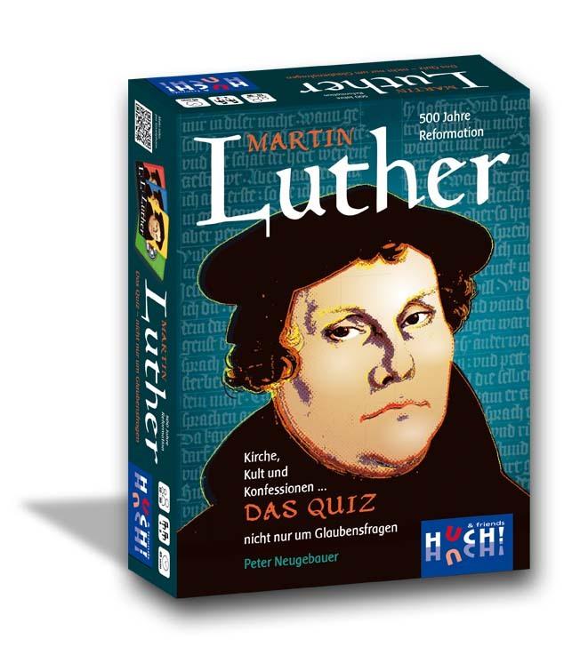 Martin Luther - Das Quiz Kirche, Kult und Konfession